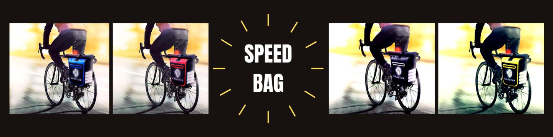 KHALISA SpeeBag 3in1 - die Beste Fahrrad Tasche für...
